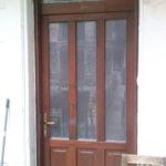 Bontás nélküli ajtóbeépítés