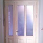 Belvárosi ajtócsere távnyitós ablakkal