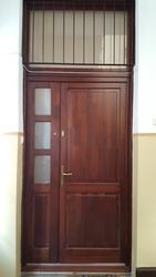 Hőszigelt borovi fenyő ajtó
