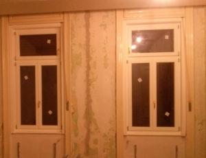 Tokráépítéses fa ablakcsere